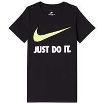 NIKE Black Just Do It Tee BLACK/VOLT
