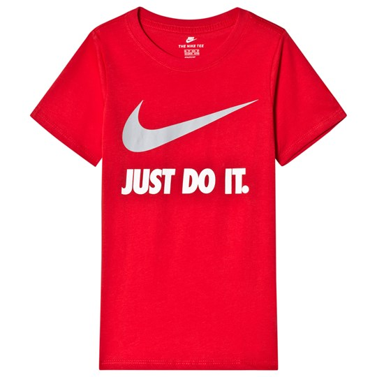 NIKE Red Just Do It Tee UNIVERSITY RED