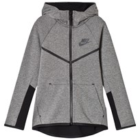 NIKE Tech Fleece Full Zip Hoodie Grey CARBON HEATHER/BLACK/ANTHRACITE