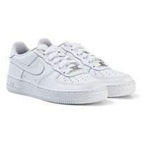 NIKE Air Force 1 Junior Sneakers White WHITE/WHITE-WHITE