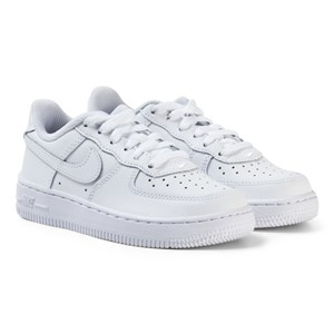 Image of NIKE Air Force 1 Kids Sneakers White 30 (UK 12) (3135227587)