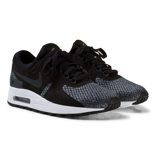 NIKE Air Max Zero SE Junior Sneakers Svart/Anthracite BLACK/ANTHRACITE-COOL GREY-WHITE