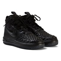 NIKE Lunar Force 1 Duckboot 2017 Junior Sneakers Svart BLACK/BLACK-ANTHRACITE