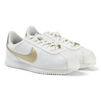 NIKE Cortez Basic SL Junior Sneakers White/Gold SUMMIT WHITE/MTLC GOLD STAR