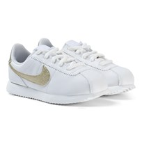 NIKE Cortez Basic SL Kids Sneakers White/Gold SUMMIT WHITE/MTLC GOLD STAR