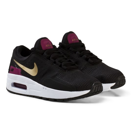 d405752fcc41b NIKE - Nike Air Max Zero Essential Kids Sneakers Black/Gold ...