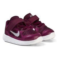 NIKE Free RN 2017 Infant Shoe Bordeaux BORDEAUX/METALLIC SILVER-TEA BERRY