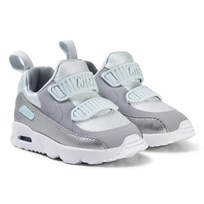 NIKE Air Max Tiny 90 Infant Sneakers Pure Platinum PURE PLATINUM/WOLF GREY-METALLIC SILVER