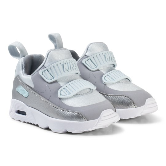 dfb6fbb081 NIKE Air Max Tiny 90 Infant Sneakers Pure Platinum PURE PLATINUM/WOLF GREY- METALLIC