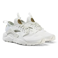 NIKE Nike Air Huarache Run Ultra Junior Sneakers White SUMMIT WHITE/MTLC GOLD STAR-SUMMIT WHITE
