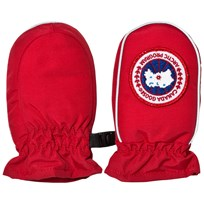Canada Goose Baby Fundy Mittens Red Punainen