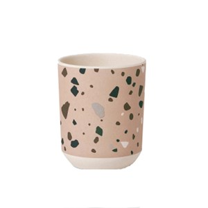 Image of ferm LIVING Bamboo Cup - Terrazzo - Rose (2951623767)