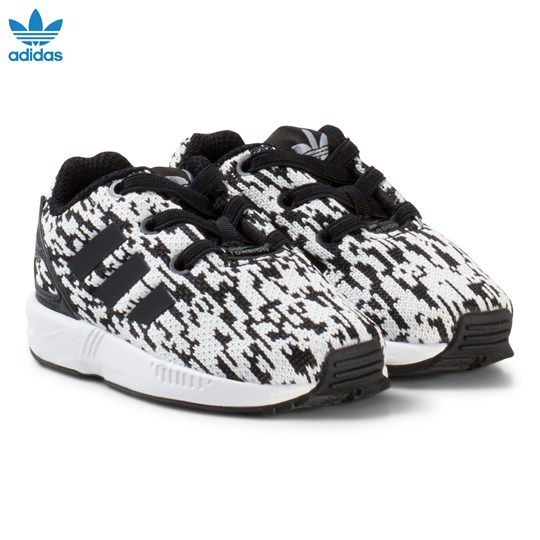 adidas Originals Black ZX Flux Infant Trainers CORE BLACK/CORE BLACK/FTWR WHITE