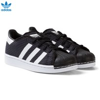 adidas Originals Black and White Superstar Kids Trainers CORE BLACK/FTWR WHITE/FTWR WHITE