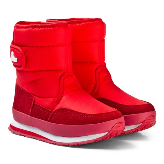 Rubber Duck Snow Jogger Boots Red Red