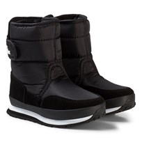 Rubber Duck Snow Jogger Boots Black Black