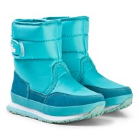 Rubber Duck Snow Jogger Boots Capri Turquoise