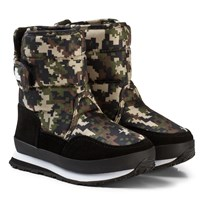 Rubber Duck Snow Jogger Boots Camo KAMOFLAGE