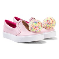 Sophia Webster Mini Pink Strawberry Sundae Ice Cream Kingston Slip Ons Strawberry Sundae