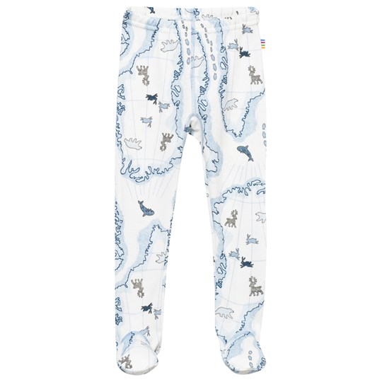Joha Leggings w Foot Arctic Zone Blue Multi Arctic Zone Blue Multi