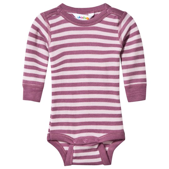 Joha Striped Baby Body Pink Stripe Pink