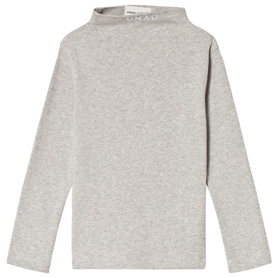 Unauthorized Emil Top Light Grey Melange Light Grey Melange