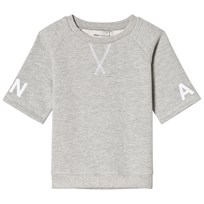 Unauthorized Sean T-shirt, K Light Grey Melange Light Grey Melange