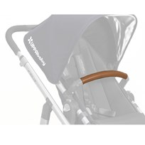 UPPAbaby Leather Bumper Bar Cover - Saddle (Available In May 2017) Black