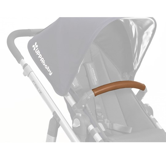 UPPAbaby Leather Bumper Bar Cover - Saddle Black