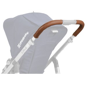 Image of UPPAbaby Cruz Leather Handlebar Covers -Saddle (Available In May 2017) (2847440865)