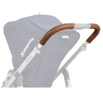 UPPAbaby Cruz Leather Handlebar Covers -Saddle (Available In May 2017) Saddle