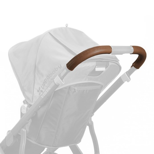 UPPAbaby Vista Leather Handlebar Covers- Saddle (Available In May 2017) Saddle