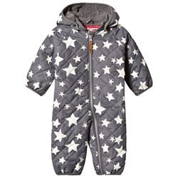 Ticket to heaven Star Coverall with Detachable Hood Castlerock