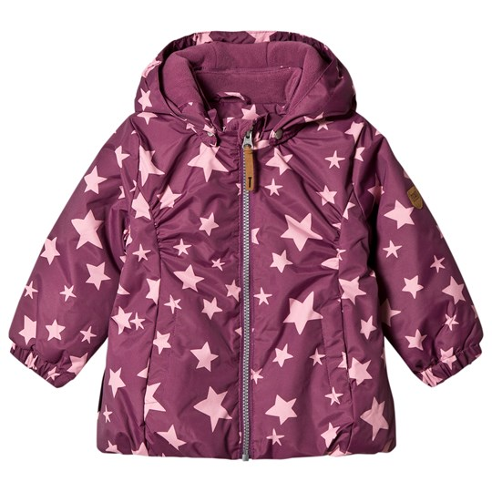 Ticket to heaven Althea Jacket with Detachable Hood Amaranth Stars Amaranth Stars