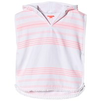 Sunuva Pink and White Stripe Hamam Infant Poncho Pink & White Stripe