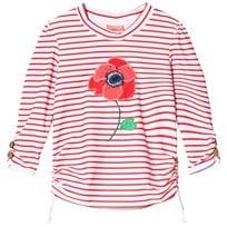 Sunuva Red and White Stripe Poppy Rash Vest Red & White Stripe