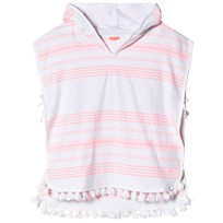 Sunuva Pink and White Stripe Hamam Poncho Pink & White Stripe