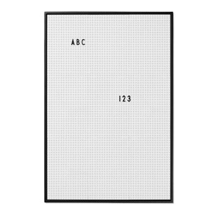 Image of Design Letters Message Board A2 Grey (2793699395)