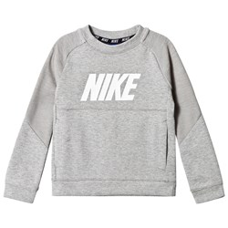 NIKE Dark Grey Heather Crew Sweater