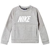 NIKE Dark Grey Heather Crew Sweater 042