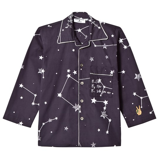 Gardner and the gang The Night Shirt INS Regular Black Black