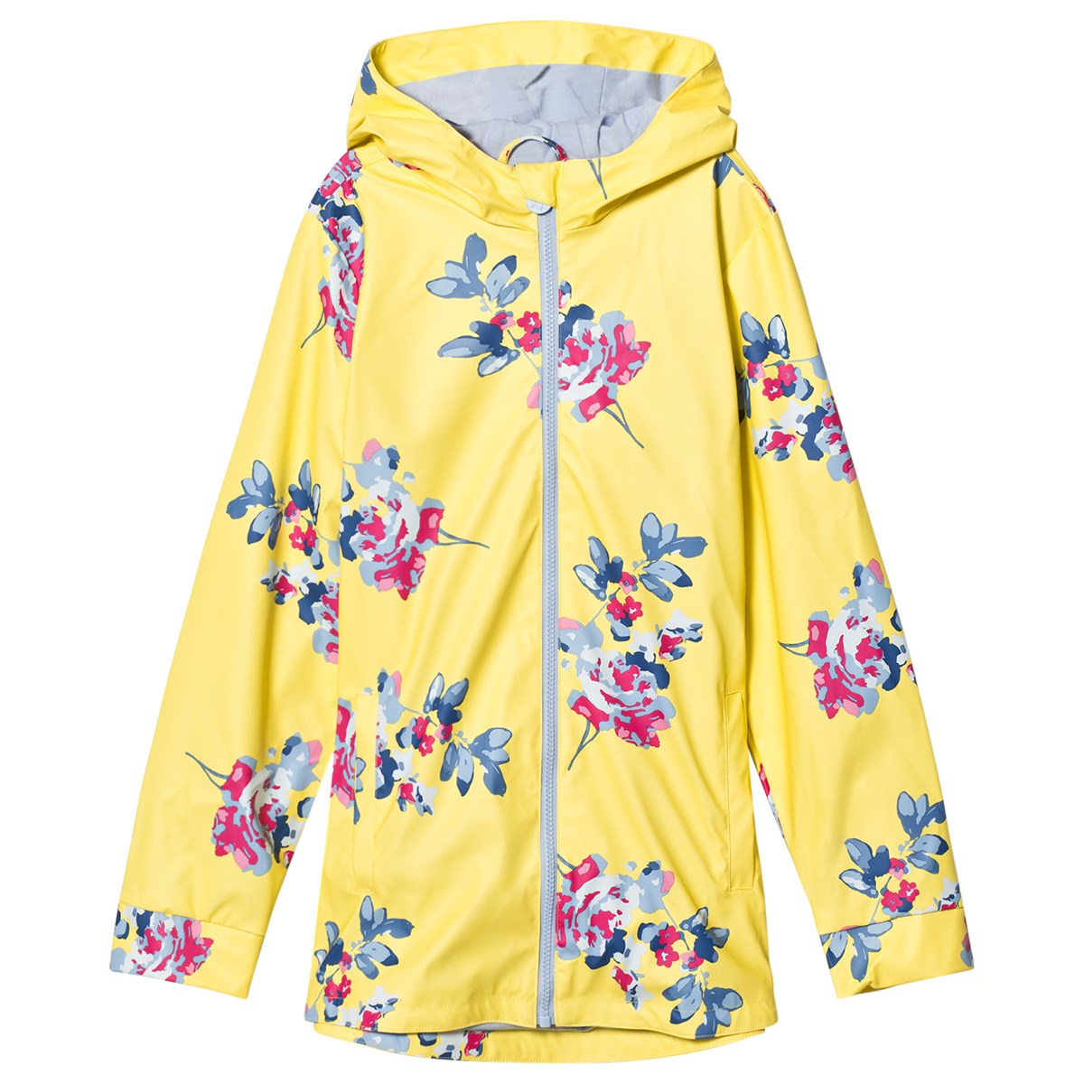 Yellow Margate Floral Joules Jersey Dress