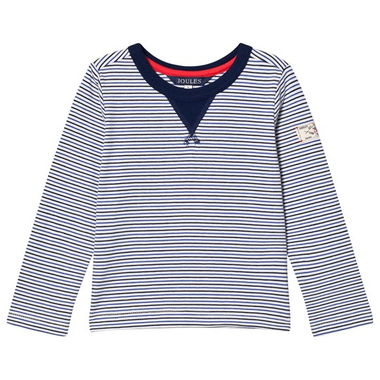 Tom Joule Blue Breton Stripe Long Sleeve Tee DAZZLING BLUE STRIPE