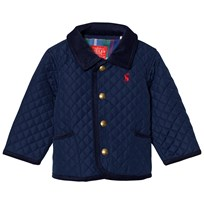 Tom Joule Navy Quilted Infants Jacket Navy