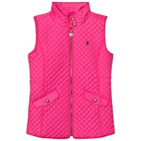 Tom Joule Pink Quilted Gilet PARISIAN PINK