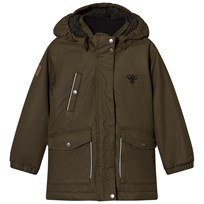 Hummel Paik Parkas Olive Night Green