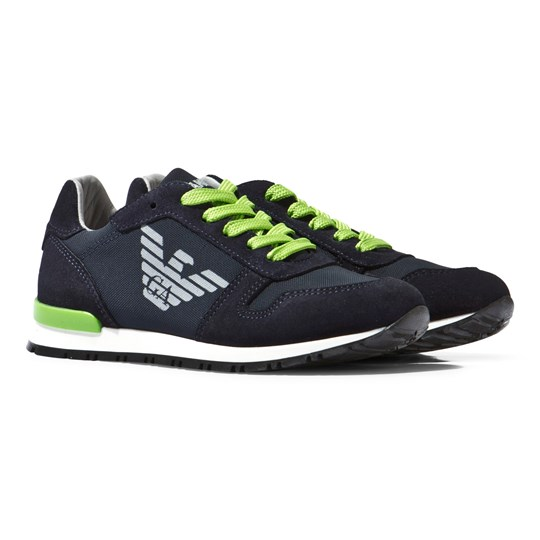 Emporio Armani Boy Shoes Blu Navy Navy
