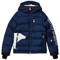 Perfect Moment Navy Super Mojo Bear Print Jacket Navy