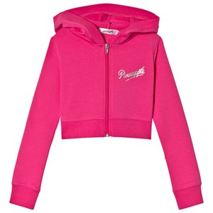 Image of Pineapple Pink Diamante Crop Zipped Dance Hoodie 11-12 years (2851083531)
