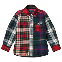 Ralph Lauren Multi Red Tartan Shirt 001